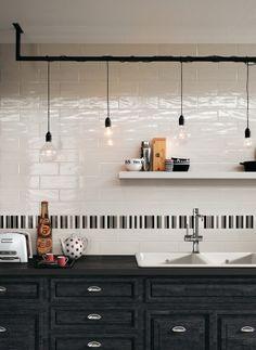 Wall tiles Manhattan by Fap Ceramiche #kitchen @Fap Ceramiche