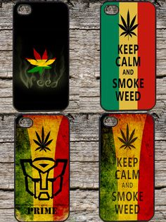 Choose Your Weed iPhone Case for Apple iPhone 4 4S or 5 - iPhone Weed Cover
