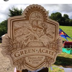 Regram from @adi_gilbert of @99seconds_studio whose awesome illustration work we engraved for @redbulluk recently. #engraved #greenacres #devon #signage #woodensign #illustration #bespokelaseruk