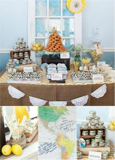 "Client Feature:  ""What a Journey"" 1st Birthday with One Stone Events"