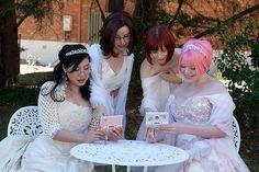Anli & Laura's Lesbian Gamer Geek Wedding. I want a shot like this