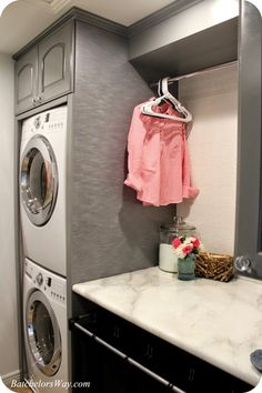 Modern Laundry Room Decor Ideas On A Budget Laundry room decor Small laundry room organization Laundry closet ideas Laundry room storage Stackable washer dryer laundry room Small laundry room makeover A Budget Sink Load Clothes Laundry Room Layouts, Laundry Room Remodel, Small Laundry Rooms, Laundry Room Design, Laundry In Bathroom, Laundry Room Ideas Stacked, Laundry Dryer, Laundry Closet, Laundry Room Organization