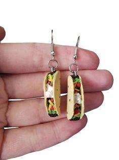 Crystal Fan Earrings- chandelier earrings/ fancy dangle earrings/ wedding earrings/ bridesmaid gift/ gifts for her/ formal special occasion - Fine Jewelry Ideas Kids Earrings, Dangly Earrings, Cute Earrings, Unique Earrings, Polymer Clay Charms, Polymer Clay Earrings, Bridesmaid Earrings, Cute Jewelry, Fake Food
