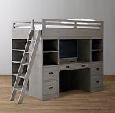 Haven Study & Storage Loft Bed
