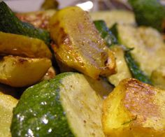 Roasted Summer Squash: Here's another simple recipe perfect for Summer dinners: roasted Summer squash. Just a little olive oil, salt, and pepper are all you need to showcase the flavors of zucchini, yellow squash, and their cousins, all of which contain a host of nutrients, including vitamins A and C and other antioxidants like fiber, folate, and potassium.  Source: Flickr User Laurel Fan