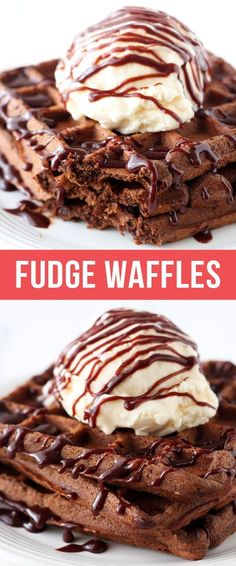 Fudge Waffles