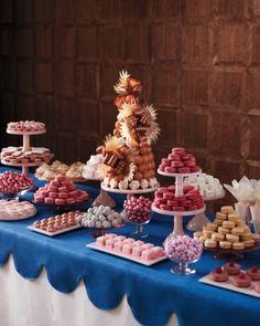 A Colorful Spread. Dessert and food display - Martha Stewart
