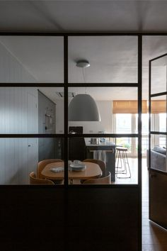 Crittall-style has been staging a comeback – and not just as windows and doors, but as walls, rear extensions, room dividers and even shower screens. Room Divider Doors, Room Dividers, Crittal Doors, Steel Frame Doors, Metal Doors, Glass Doors, Polished Concrete Flooring, Crittall, Kitchen Doors