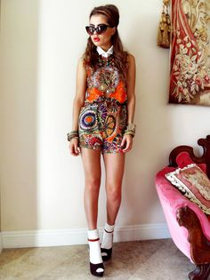 Cute 70s Inspired Outfit Outfits School Fashion