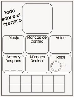 Number Anchor Chart in Spanish Dual Language Classroom, Bilingual Classroom, Math Classroom, Teaching First Grade, 1st Grade Math, Teaching Math, Number Anchor Charts, Spanish Anchor Charts, Kindergarten Anchor Charts