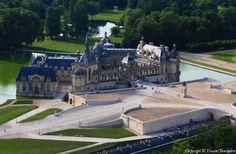 ✈️ Photo aérienne de : Château de Chantilly - Oise (60)