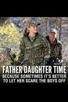 Take your daughter hunting
