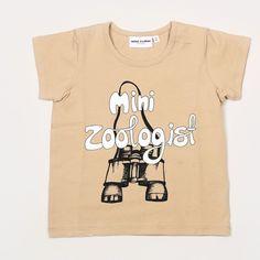 Mini Rodini Zoologist Tee Beige