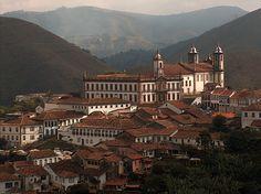 Ouro Preto, Brazil - Ciudad del Patrimonio Mundial.