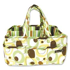 Trend Lab Storage Caddy, Giggles Print  - Click image twice for more info - See a larger  selection of  Baby  diaper stacker and caddies  at    http://zbabybaby.com/category/baby-categories/baby-diapering/baby-diaper-stackers-and-caddies/  - gift ideas, baby , baby shower gift ideas, toddler, kids  « zBabyBaby.com