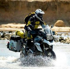 The liquid-cooled version of the 2013 BMW has been years in the making, and Touratech is pleased tthe bike has not only retained its off-road capabilities, but raised the bar. Gs 1200 Adventure, Off Road Adventure, Adventure Tours, Adventure Travel, Enduro Motorcycle, Motorcycle Camping, Motorcycle Adventure, Bmw Motorbikes, Bmw Motorcycles