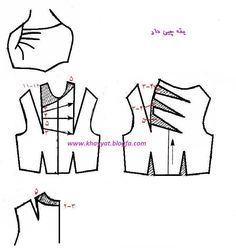 Sewing Hacks, Sewing Tutorials, Sewing Projects, Draping Techniques, Sewing Techniques, Bodice Pattern, Jacket Pattern, Easy Sewing Patterns, Clothing Patterns