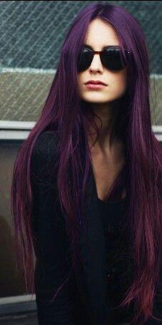 violet ultra long hair