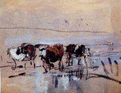 eugène boudin | musée andré malraux muma le havre tableaux d eugène boudin vaches