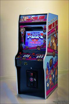 "Mini arcade prototype in 2011 named ""Fatboy"" www.the-arcade-company.com"
