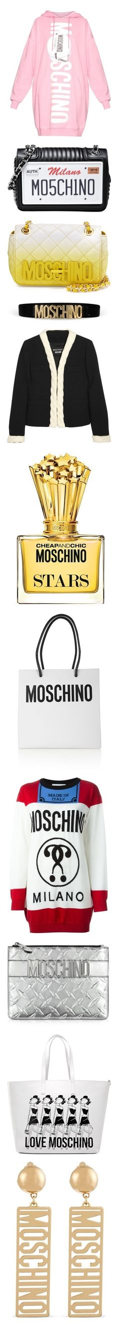 """""""Moschino"""" by nattiexo ❤ liked on Polyvore featuring dresses, tops, pink, pink dress, light pink dresses, moschino, cotton dresses, oversized sweater dress, bags and handbags"""