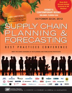 Supply Chain Planning & Forecasting Best Practices Conference 2012