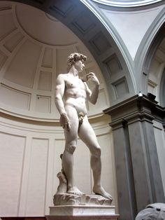 David by Michelangelo, Accademia Gallery http://destinationfiction.blogspot.ca/2015/01/great-art-museums-of-florence.html