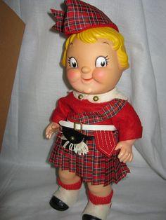 """Scottish Highlander """"Campbell's Soup Kids Doll"""" ( I still have her!)"""