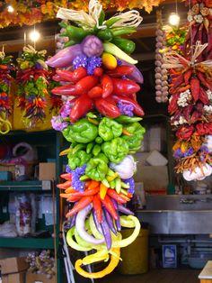 chili pepper bouquet