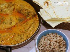 Butterchicken curry, la receta diferente de curry de pollo que te llevará a la India desde el primer bocado Naan, Arroz Al Curry, Indian Food Recipes, Ethnic Recipes, Savoury Recipes, Good Food, Awesome Food, Baking Recipes, Cravings