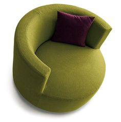 Upholstered Armchair With Armrests CHANCE By Saba Italia Design Sergio  Bicego