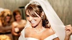 Mariée jeux pendant mariage