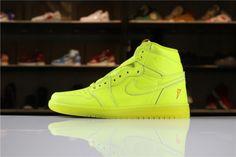 best sneakers ed75e 2594c Popular Air Jordan 1 Retro High OG Gatorade Cyber Air Jordan Shoes, Jordan  Shoes For