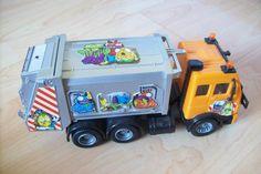 SK Trash pack kukásautó / DIY Trash pack garbage truck