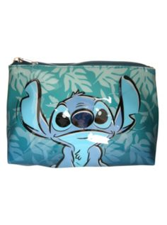 Disney Lilo & Stitch Hawaiian Cosmetic Bag from Hot Topic. Saved to stitch. Shop more products from Hot Topic on Wanelo. Lilo And Stitch 3, Disney Stitch, Stitches Makeup, Disney Wishes, Disney Love, Disney Stuff, Disney Ideas, Disney Cars, Disney Merchandise