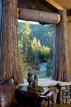 The view from somewhere in Silverthorne, Colorado... I want to drink my morning tea and look out this window.  ~~  Houston Foodlovers Book Club