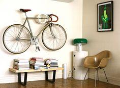 New Modern Bike Rack Interior Design Ideas Hipster Decor, Estilo Hipster, Traditional Fireplace, Vintage Interior Design, Best Interior, Modern Interior, Interior Ideas, Industrial Style, Vintage Industrial