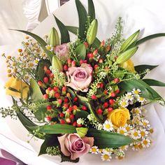 Beautiful flowers from Appleyard London!