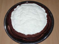 NapadyNavody.sk   Čokoládový krtko s banánmi a tvarohovým krémom Pie, Desserts, Food, Torte, Tailgate Desserts, Cake, Deserts, Fruit Cakes, Essen