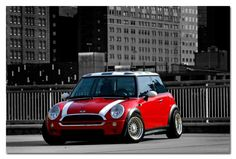 MINI #Red #MINI #MiniCooper #NotNormal  I like - http://extreme-modified.com/