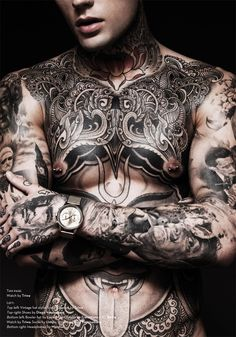 Stephen James Goes Nude, Showing Tattoos for Hedonist image Stephen James Tattoos Photos 005