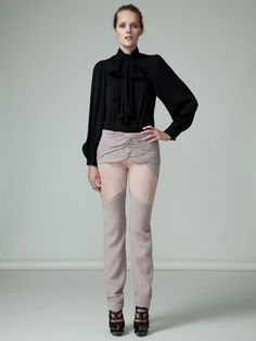 shockingly different. Love them: Wool Suede Bitonal Pant by Rodarte on Gilt.com