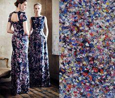 Paintings Lee Strasser (m. to Jackson Pollock from 1945 till his death in 1956) inspire fashion designer | Erdem x Lee Krasner