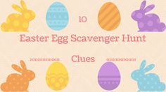 If you& looking for Easter scavenger hunt riddles, we have 10 free riddles that come on a printable sheet Easter Scavenger Hunt Riddles, Easter Riddles, Scavenger Hunt List, Scavenger Hunt Clues, Easter Activities, Easter Games, Church Activities, Indoor Activities, Holiday Activities