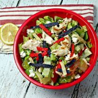 Mexican Caesar Salad with Chicken on MyRecipeMagic.com