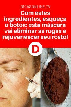 Esta mascara facial caseira está fazendo sucesso em todo o mundo... Aprenda a receita!!!