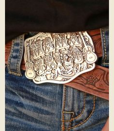 When most people see this belt buckle they think Miranda Lambert; when I see it I think Merle Haggard. Mama tried to raise him right but he refused. Merle Haggard all the way! I WANT THIS SO BAD. Cowgirl Chic, Cowboy And Cowgirl, Cowgirl Style, Cowgirl Boots, Western Style, Cowboy Hats, Gypsy Cowgirl, Cowgirl Bling, Cowgirl Jewelry