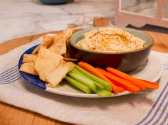 Classic Hummus Recipe : Katie Lee : Food Network - FoodNetwork.com  I tried it and it was good and so easy