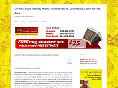 USA, Fl, Oriental Rug Cleaning West Palm Beach