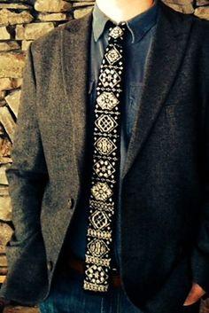 Ravelry: North Star Necktie pattern by Martha Keep